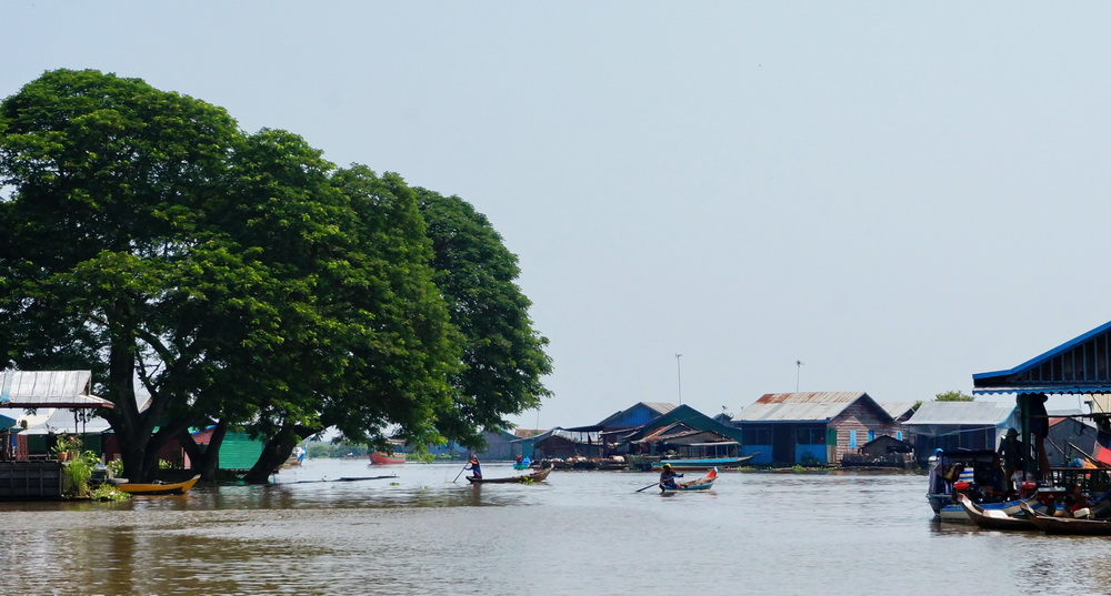 Daily Life on Tonle Sap Lake, Cambodia