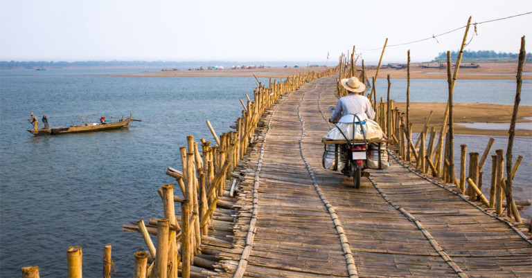 Kampong Cham in Cambodia