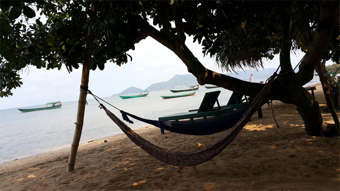 Koh Thonsay Beach in Cambodia