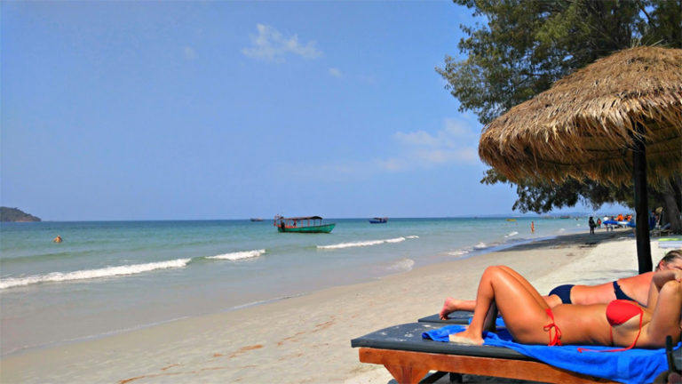 Otres Beach in Cambodia