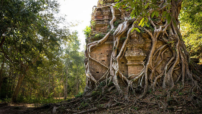 Sambor Prei Kuk Temple in Cambodia has been added to UNESCO World Heritage Sites in 8 July 2017