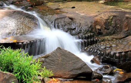 Kbal Spean 1000 Lingas River in Siem Reap
