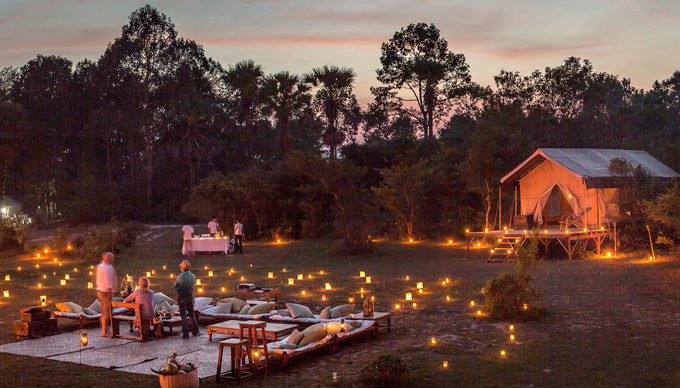 Cambodia Luxury Tented Camp by Heritage Suites Hotel in Siem Reap