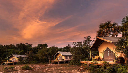 Cambodia Luxury Tented Camp