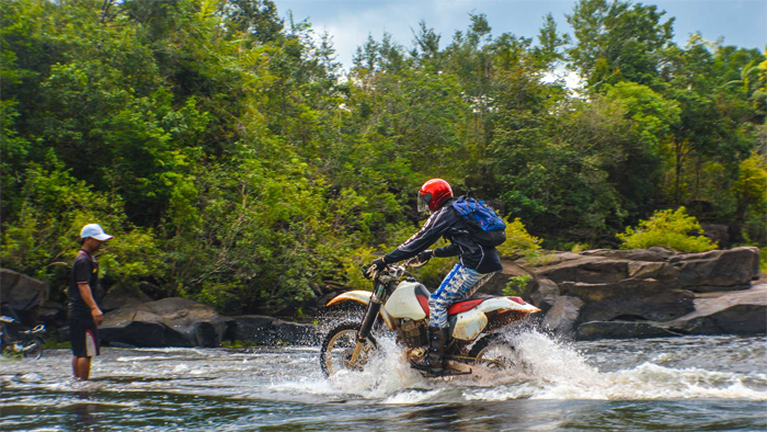 Motorcycling in Cambodia (Photo credit Ride Expeditions)