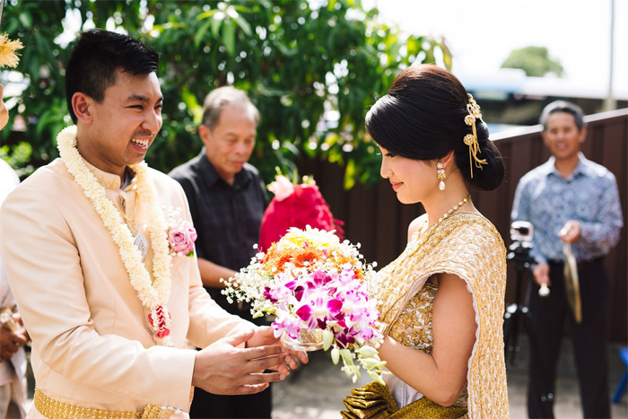 Khmer Wedding Ceremony in Cambodia