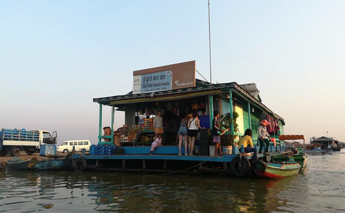 Homestay at Kampong Luong Floating Village