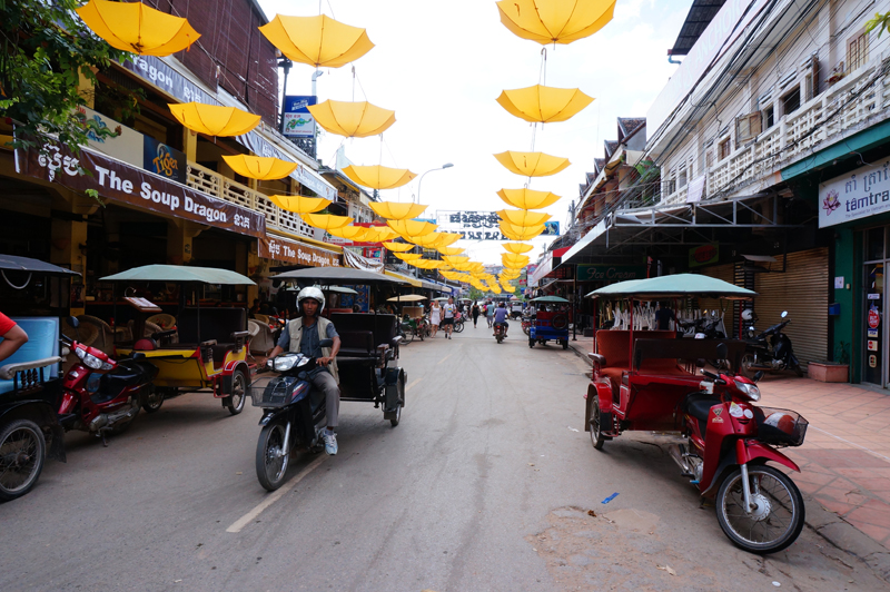 Daily life in Siem Reap Cambodia